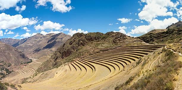 Pisac Inka-Ruinen, Heilige Tal in Peru – Foto