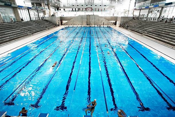 Olympic Swimming Pool Stock Photo Piscine Olympique