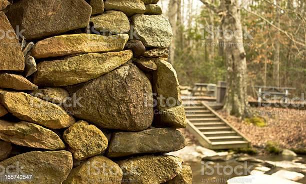 Pisgah Covered Bridge Pillar