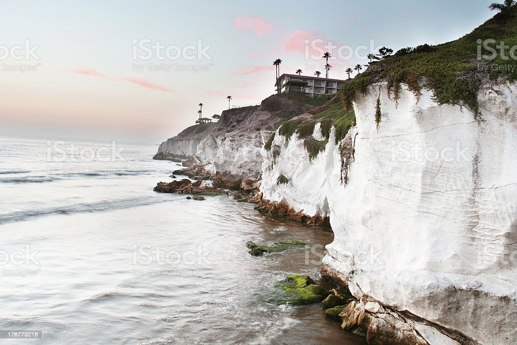 Pismo Beach California at Sunset royalty-free stock photo