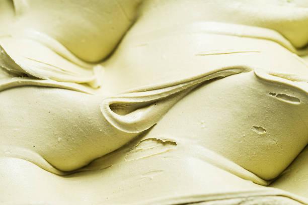 Pistachio flavour gelato - detail