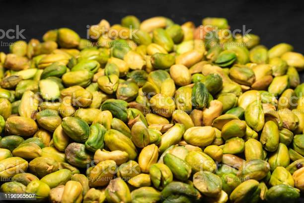 Pistachio In Heap Stock Photo - Download Image Now