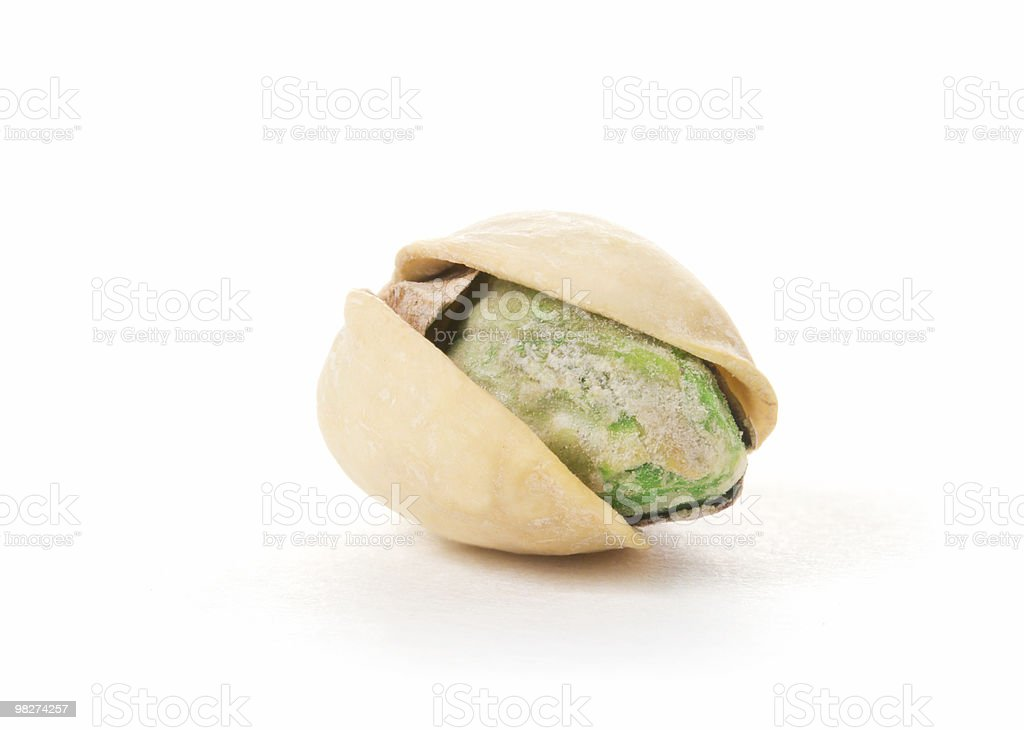 Pistachio Macro royalty-free stock photo