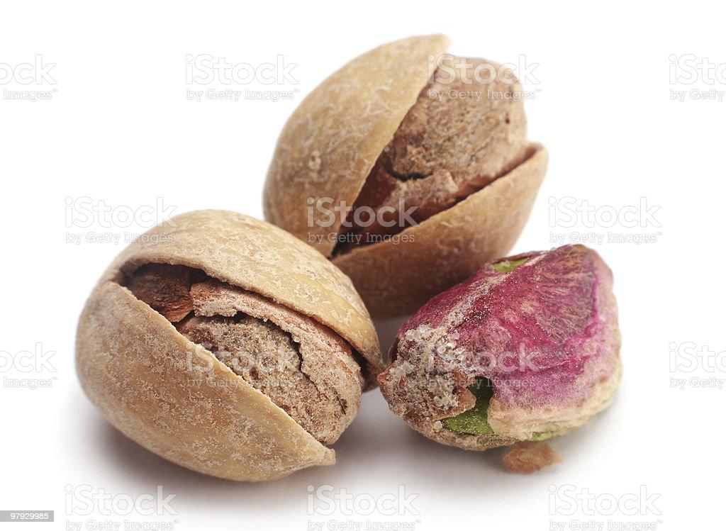 Pistachio nut royalty-free stock photo