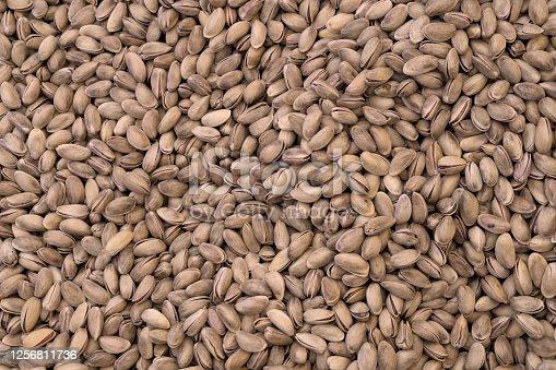 Turkey Pistachio nuts background