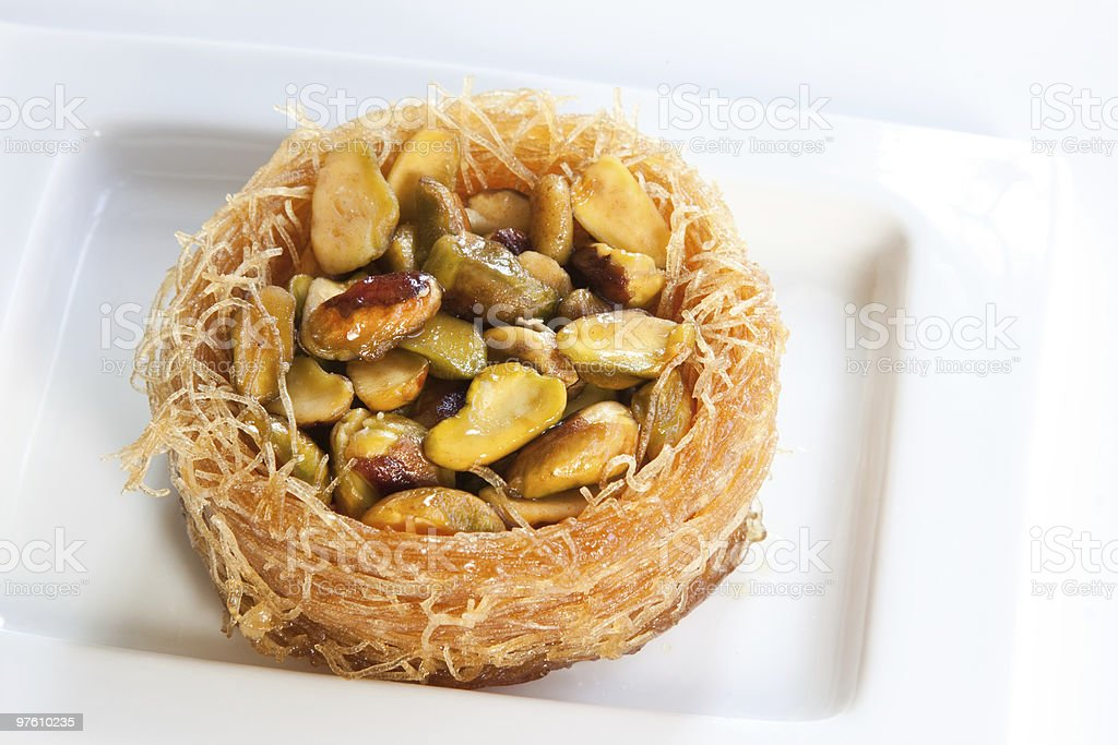 Pistachio Pastry royalty-free stock photo