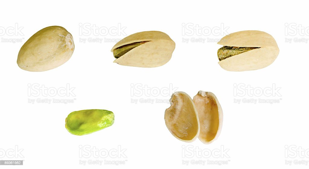 Pistachio royalty free stockfoto