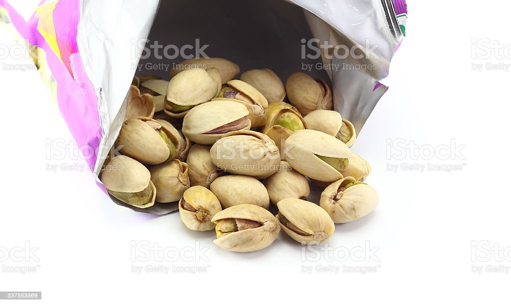 pistachios nuts. stock photo