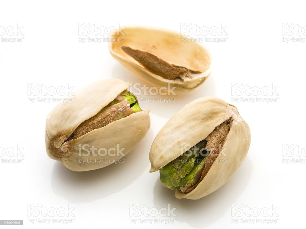Pistachios royalty free stockfoto