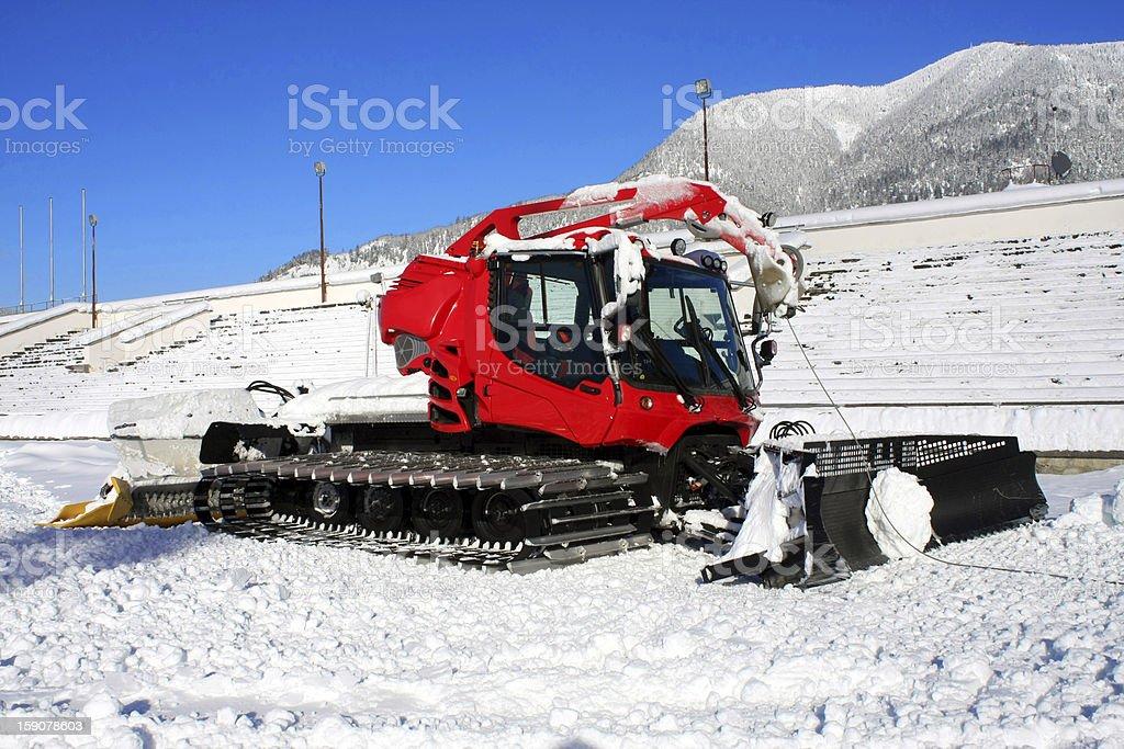 Pistenbully For Ski Slopes Stock Photo - Download Image Now - iStock