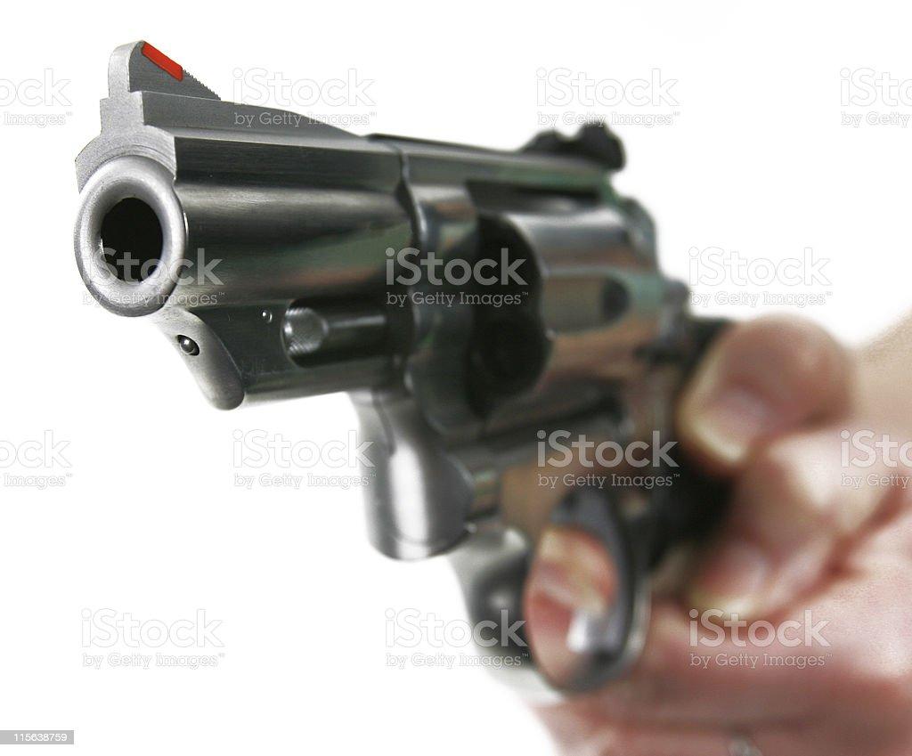 Pistola 1-357 magnum - foto de stock