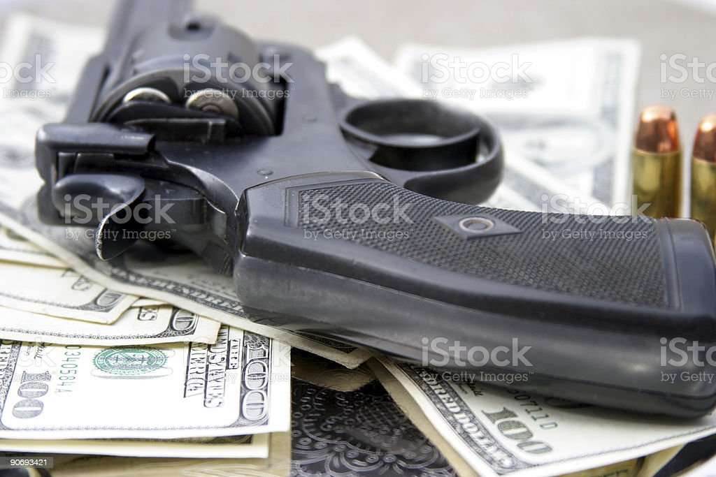 pistol #6  - .45 cal royalty-free stock photo