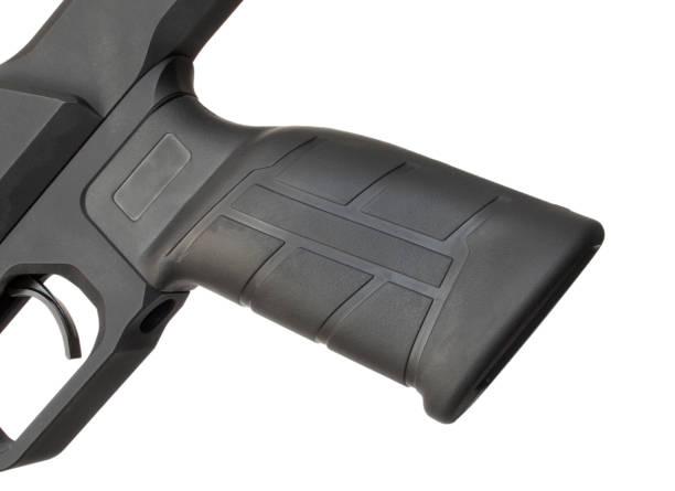 Pistolengriff auf einem Hochleistungsgewehr – Foto