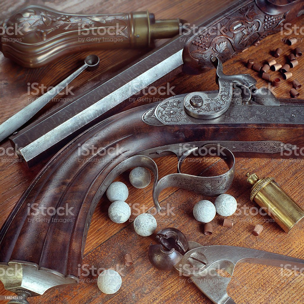 pistol royalty-free stock photo