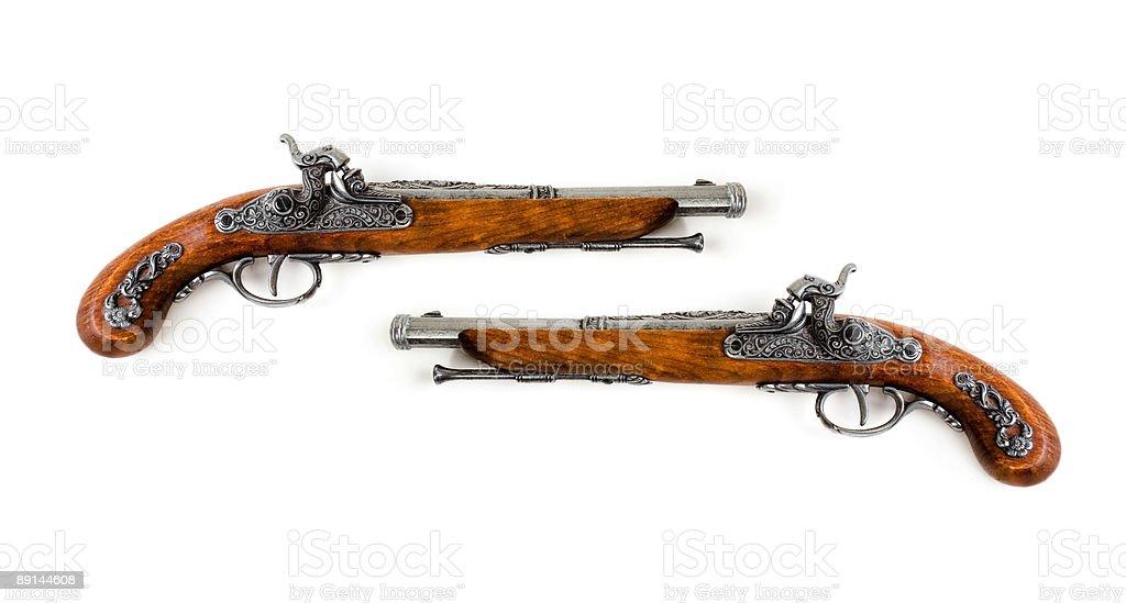 Pistols royalty-free stock photo