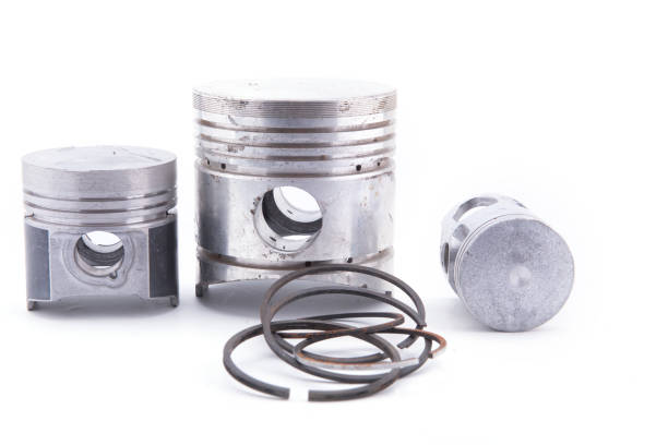 Piston engine Piston engine isolated on a white background piston stock pictures, royalty-free photos & images