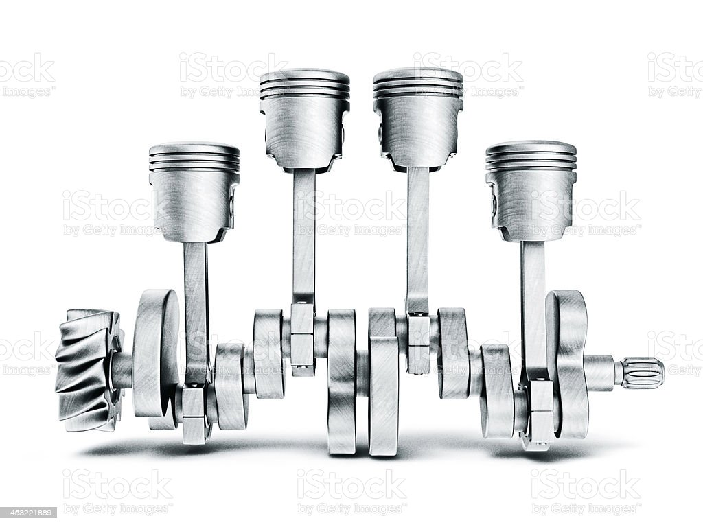 pistons stock photo