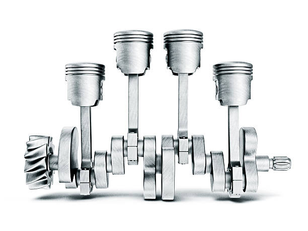 pistons steel pistons isolated on a white background piston stock pictures, royalty-free photos & images