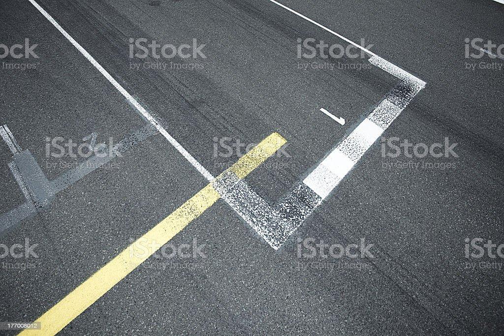 pit lane royalty-free stock photo
