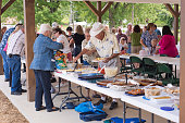 Pitch in Dinner at the Picnic Shelter