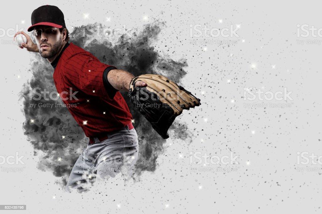 Pitcher Baseball stock photo