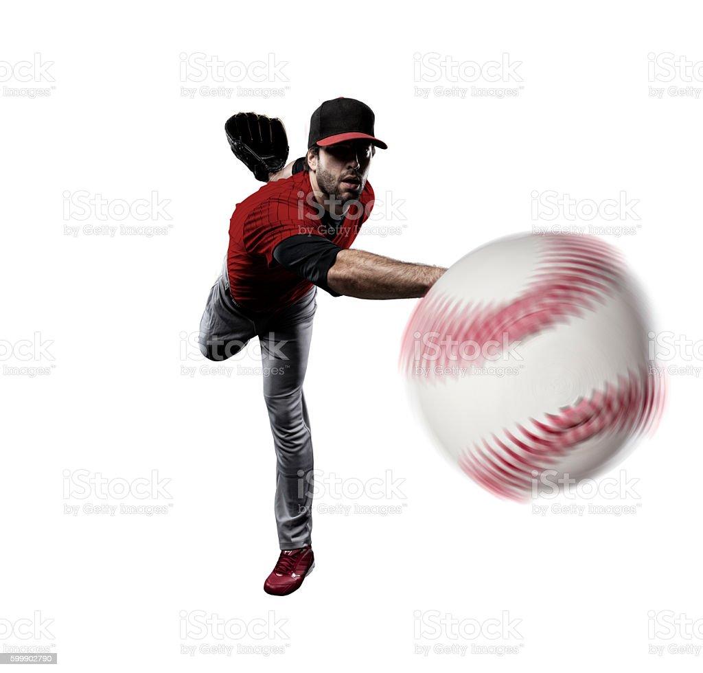 Pitcher Baseball Player stock photo