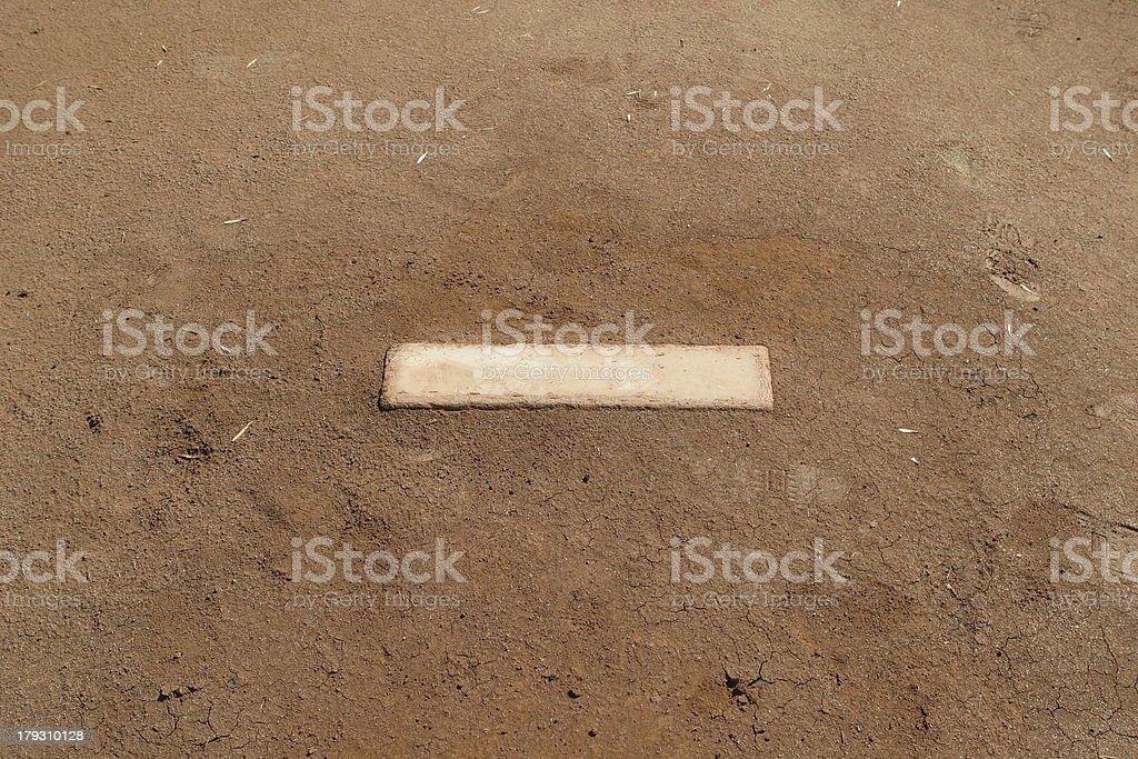 Pitching Mound royalty-free stock photo