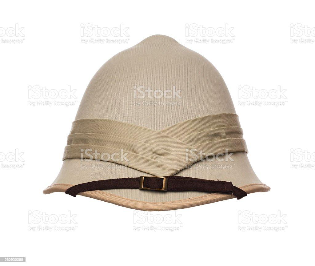 Pith helmet stock photo