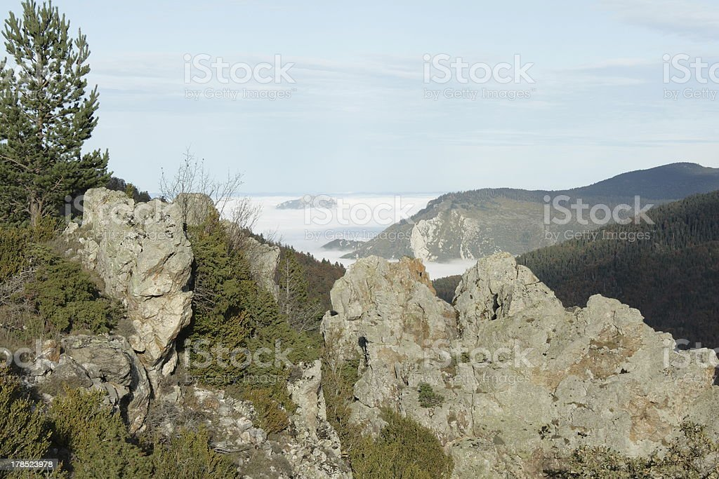 Piton in Pyrenees royalty-free stock photo