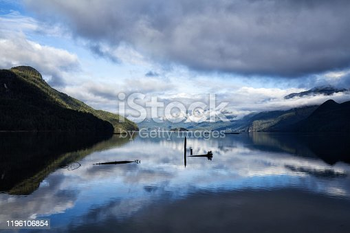 istock Pitt Lake in winter, Pitt Meadows, BC, Canada 1196106854