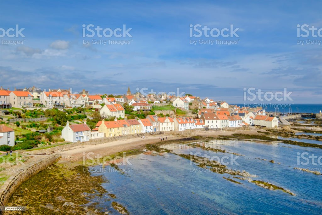 Pittenweem Is A Village In The East Neuk Coast Of Fife