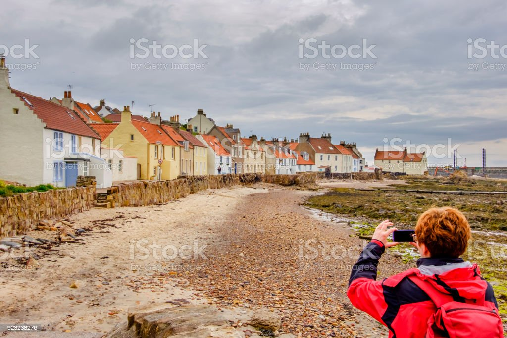 Pittenweem Is A Village In The East Neuk Coast Of Fife Scotland With
