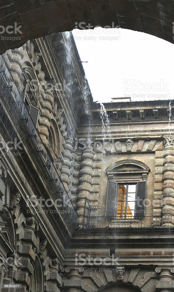 Palazzo Pitti royalty-free stock photo