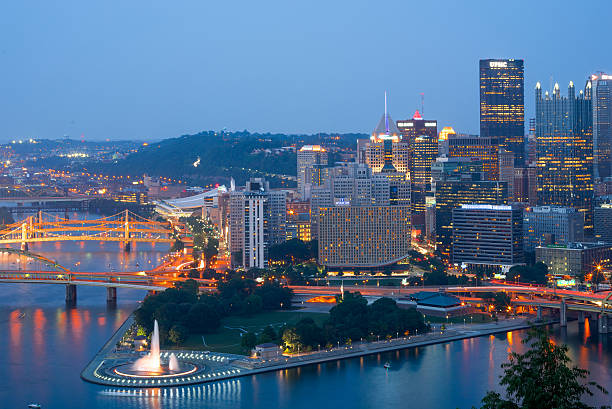 Pittsburg Pittsburgh, Penn pittsburgh bridge stock pictures, royalty-free photos & images