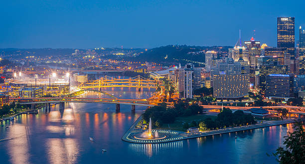Pittsburg Pittsburg, Penn pittsburgh bridge stock pictures, royalty-free photos & images