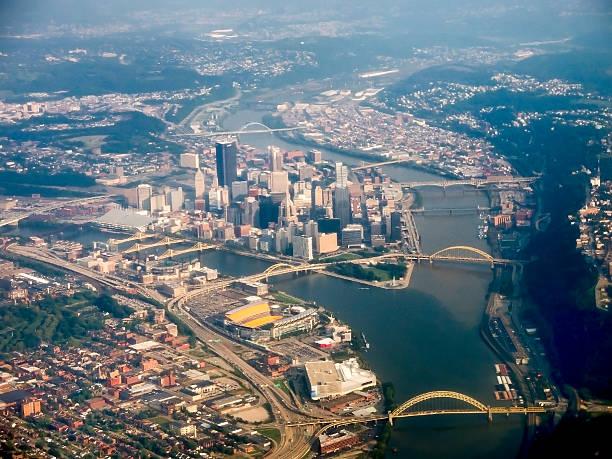 Pittsburgh Aerial stock photo