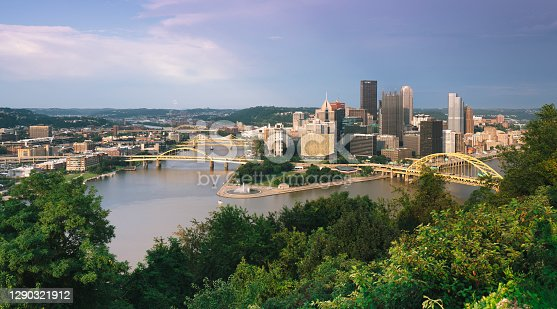 istock Pittsburgh downtown during sunset 1290321912