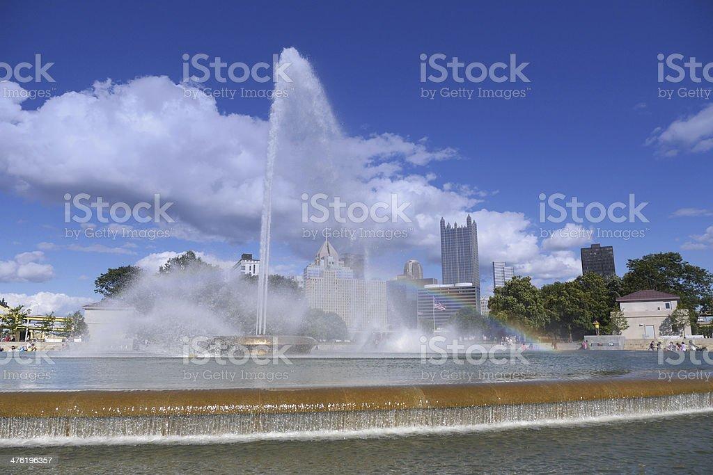 Pittsburgh Brunnen am Point – Foto