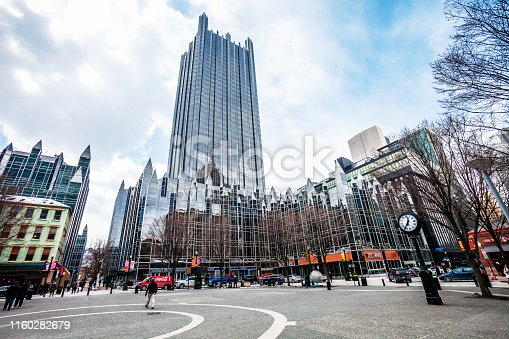 Market Square. Pittsburgh, Pennsylvania, USA