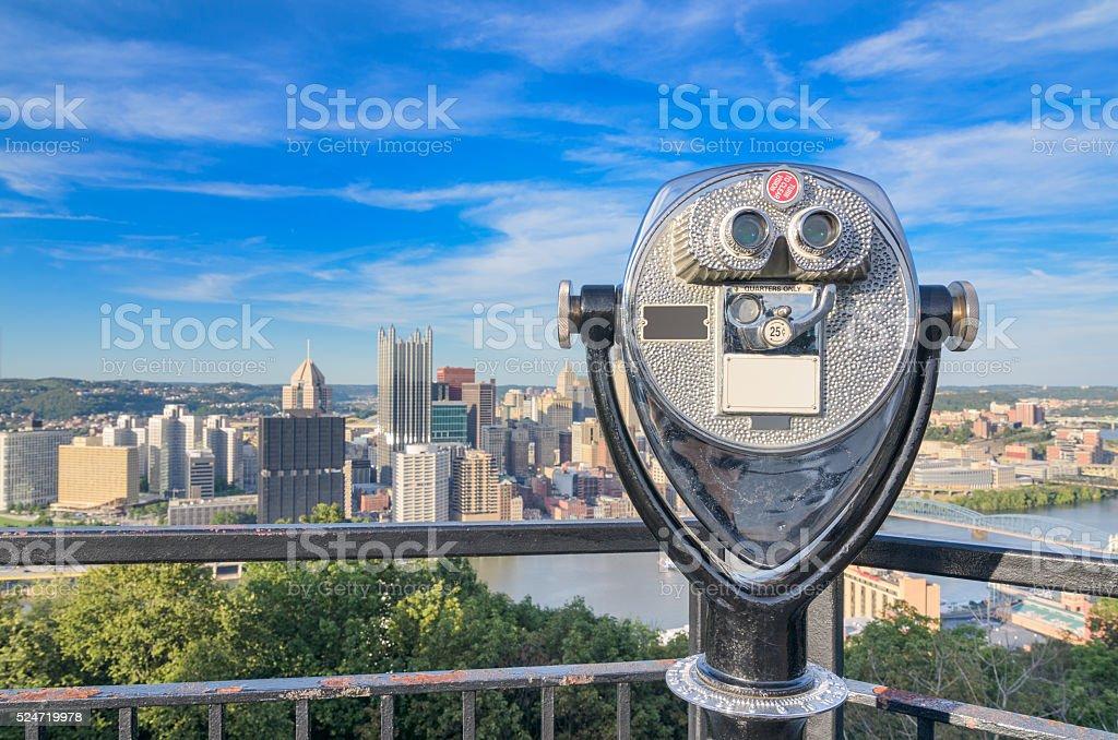 Pittsburgh Pennsylvania Cityscape stock photo