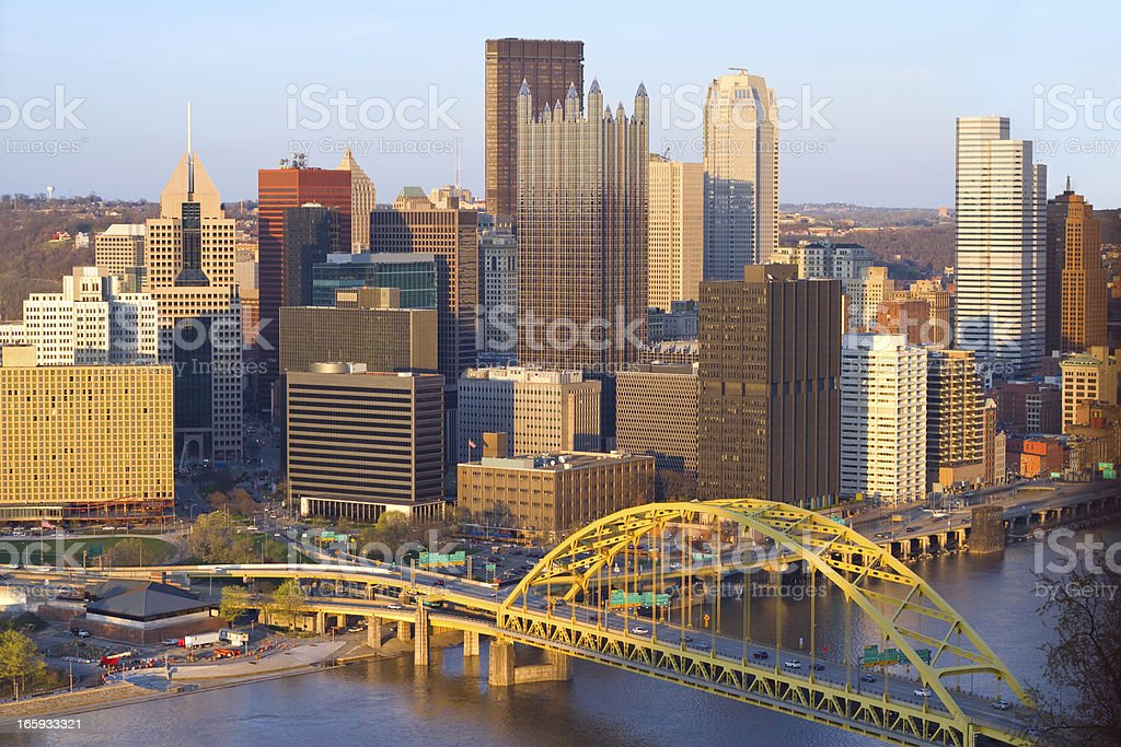 Pittsburgh, Pennsylvania, USA royalty-free stock photo