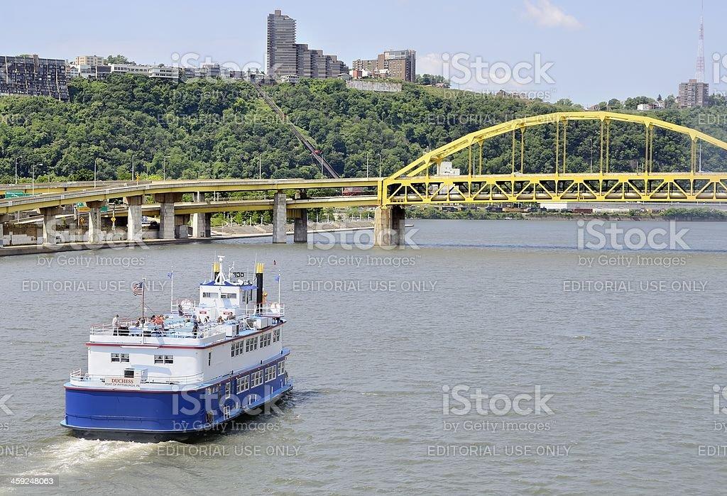 Pittsburgh Riverfront stock photo