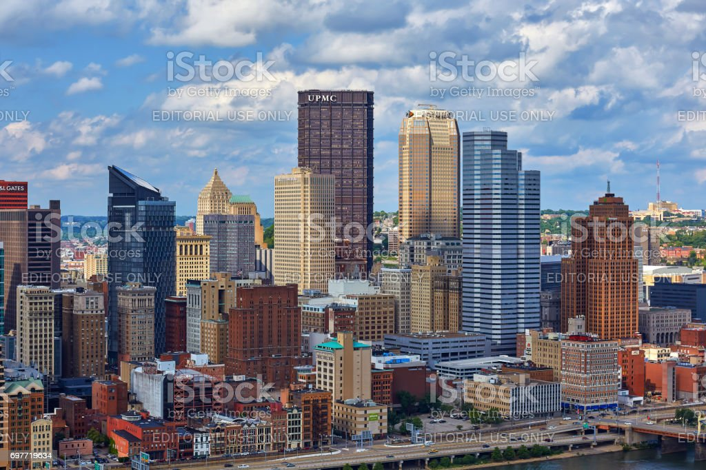 Pittsburgh Skyline stock photo