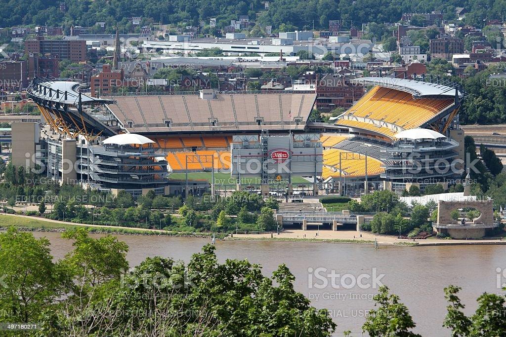 Pittsburgh Steelers stadium stock photo