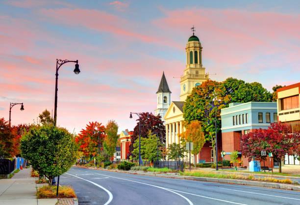 Pittsfield, Massachusetts stock photo