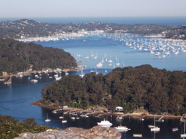 Pittwater, Sydney, Australia stock photo