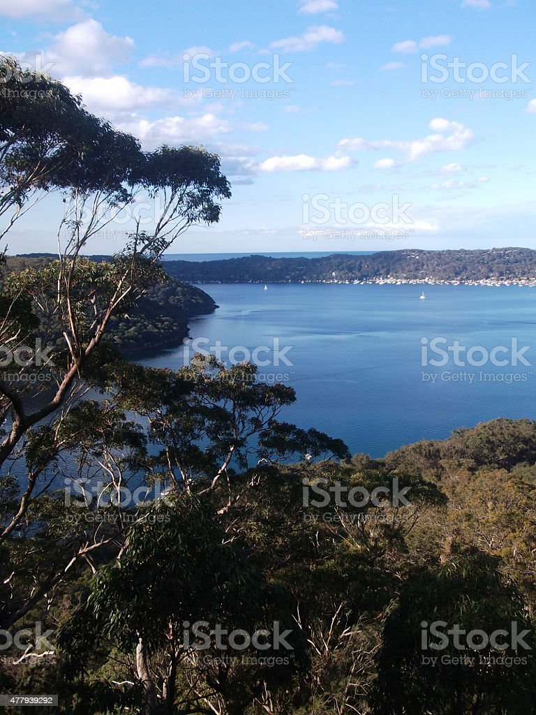 Pittwater, Sydney, Australia stock photo