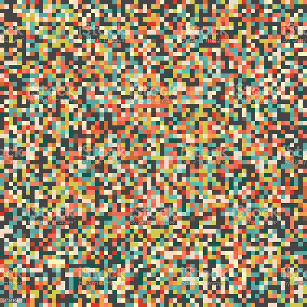 Pixel Art BackgroundPattern stock photo