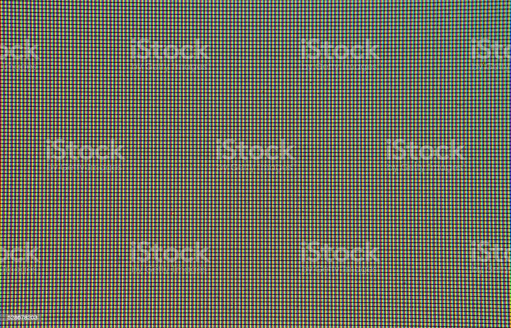 Pixel display stock photo