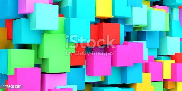 istock Pixel Fun Background 1176094351